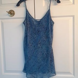 Soft dressy tank with spagetti straps from. Cabi